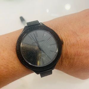 Micheal Kors crystal paved watch